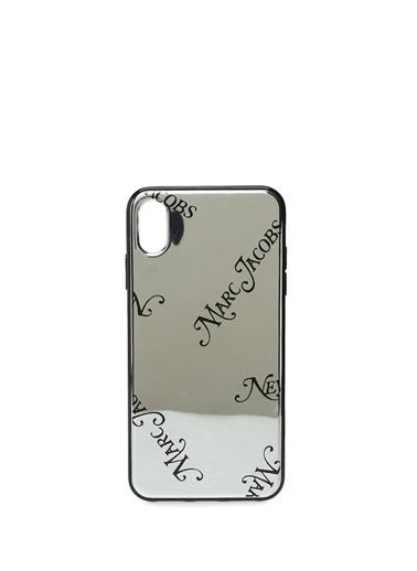 Marc Jacobs iPhone XS Max Aksesuar Gümüş